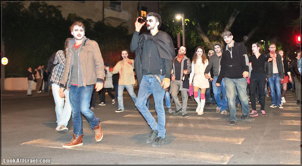 50 Зомби на улицах Тель Авива – Zombie Walk Tel Aviv