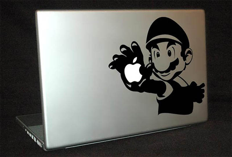 504 50 креативных наклеек на MacBook