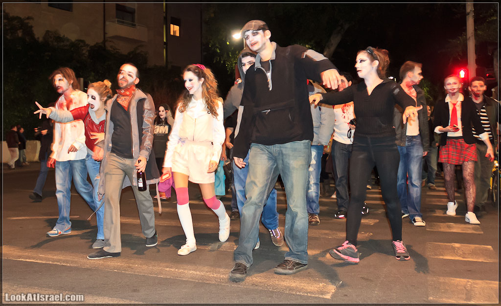5110 Зомби на улицах Тель Авива – Zombie Walk Tel Aviv