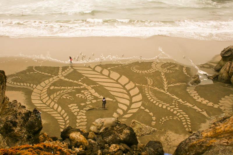 5162 Шедевры из песка Андреса Амадора