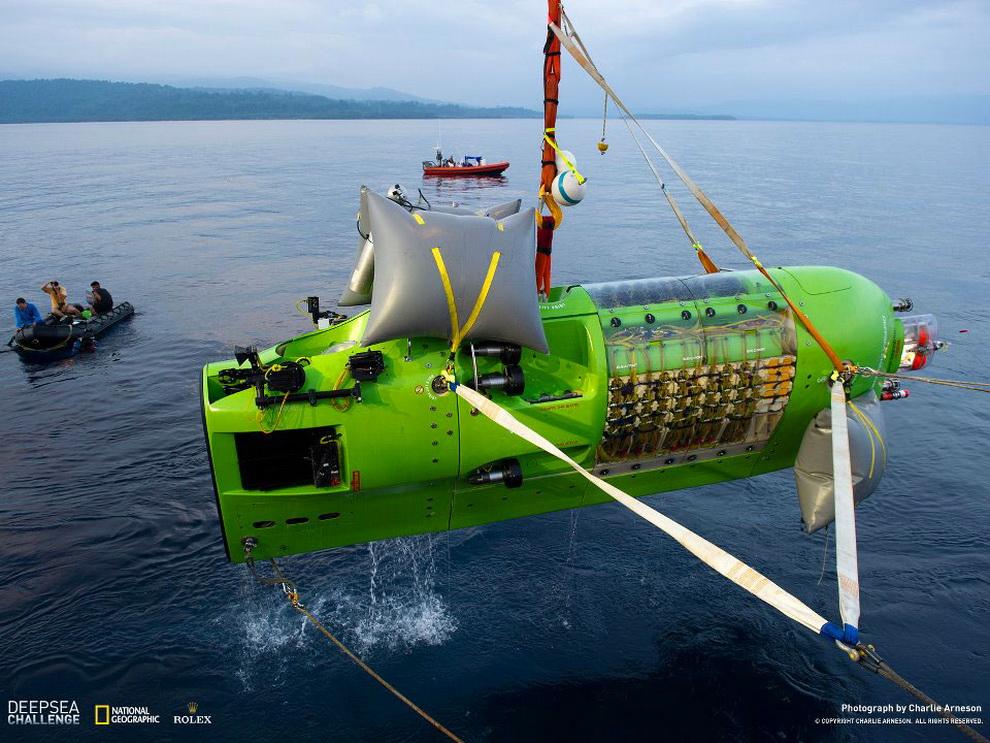 5172 Режиссер Титаника совершил одиночное погружение на дно Марианской впадины