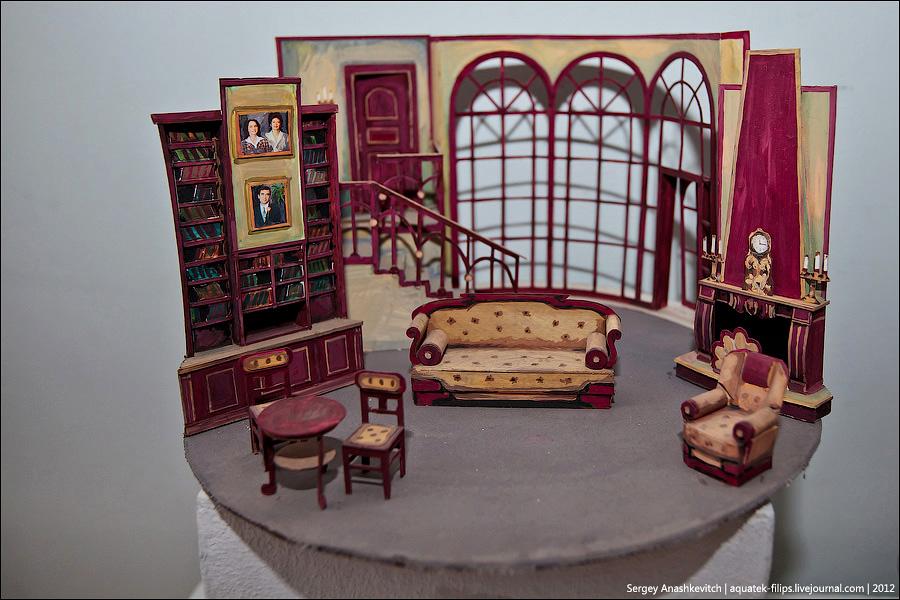 5191 Закулисье или Выставка миниатюрных театральных декораций