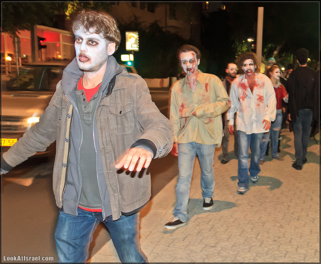 5210 Зомби на улицах Тель Авива – Zombie Walk Tel Aviv