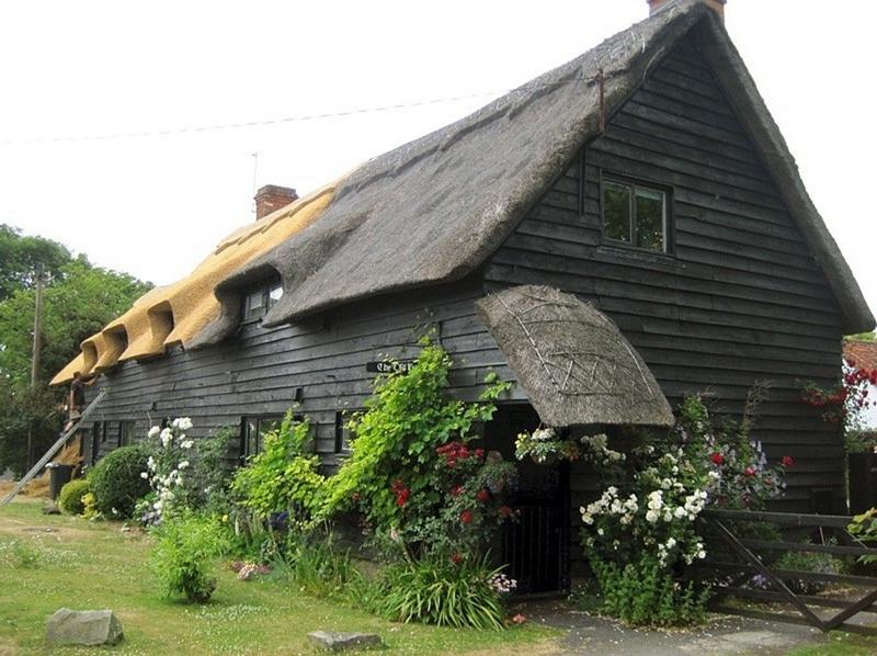 522 Соломенные крыши английской провинции