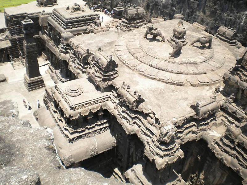 523 Эллора пещерные храмы Индии