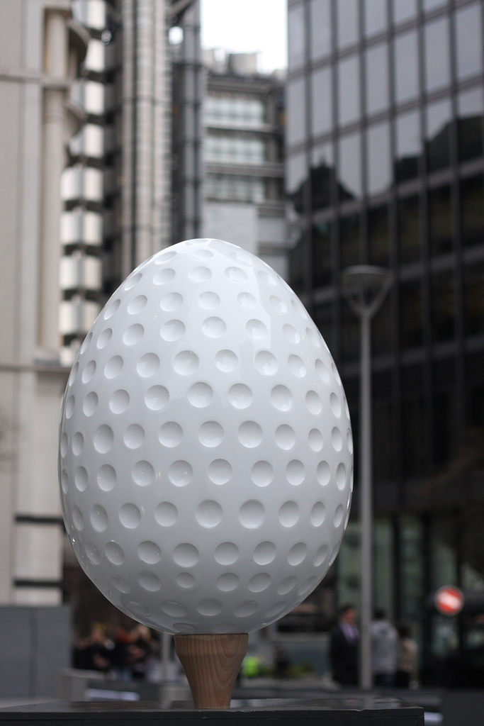 546 Большая пасхальная охота за расписными яйцами в Лондоне