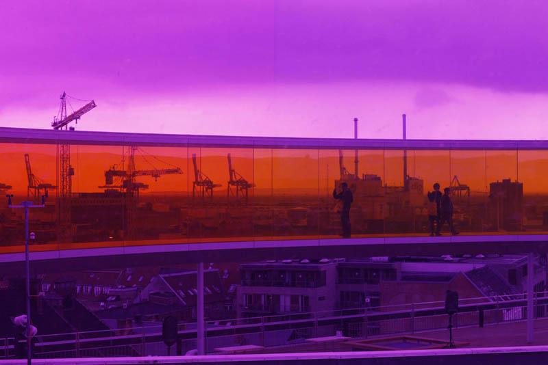 558 Новая достопримечательность Дании: Радужная панорама