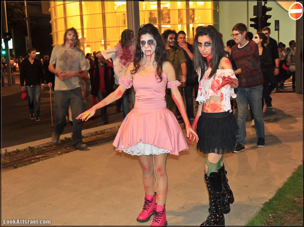561 Зомби на улицах Тель Авива – Zombie Walk Tel Aviv