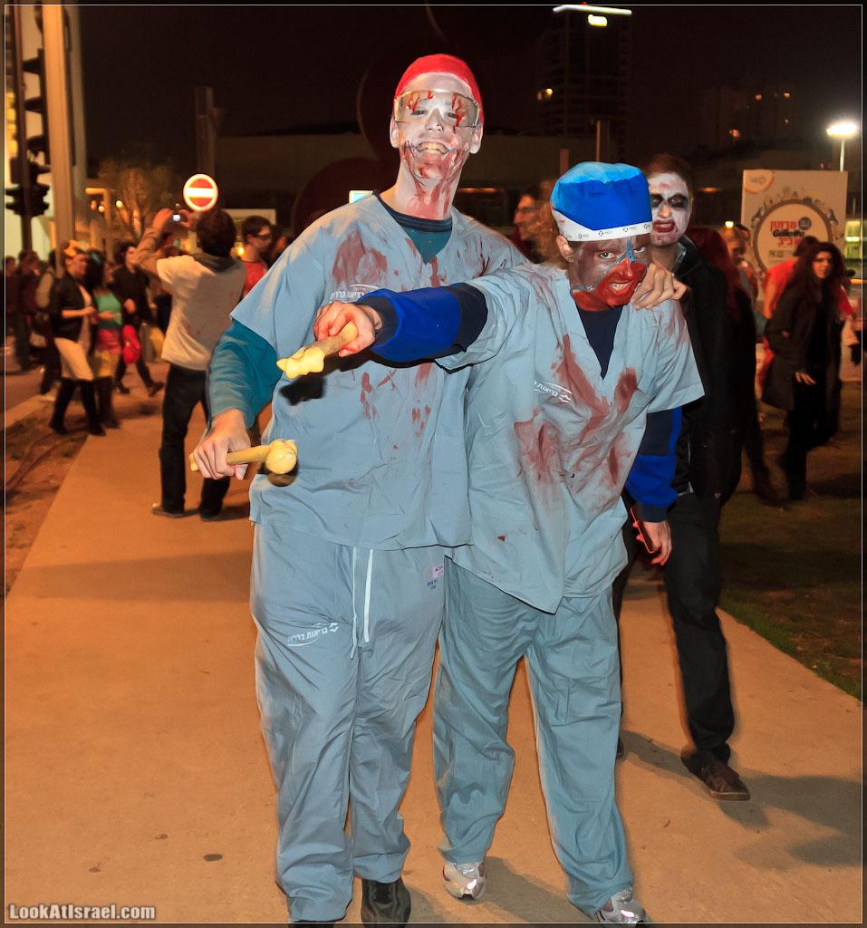 581 Зомби на улицах Тель Авива – Zombie Walk Tel Aviv