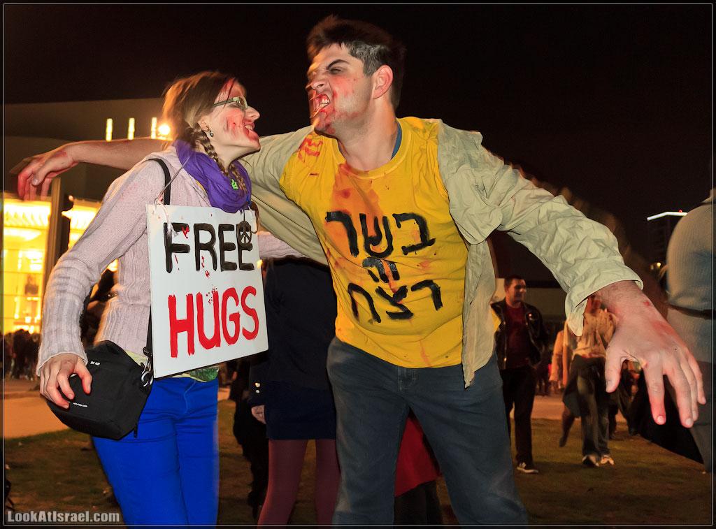 60 Зомби на улицах Тель Авива – Zombie Walk Tel Aviv