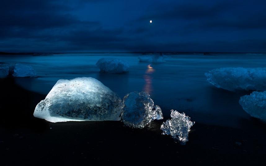 6119 Голубые айсберги и ледники Исландии