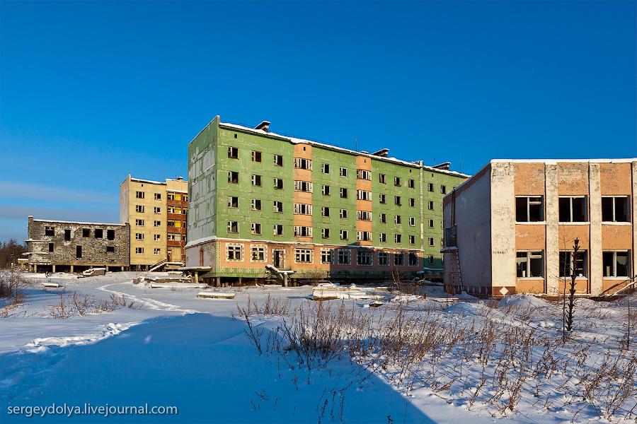 6151 Заброшенный город Кадыкчан на Чукотке