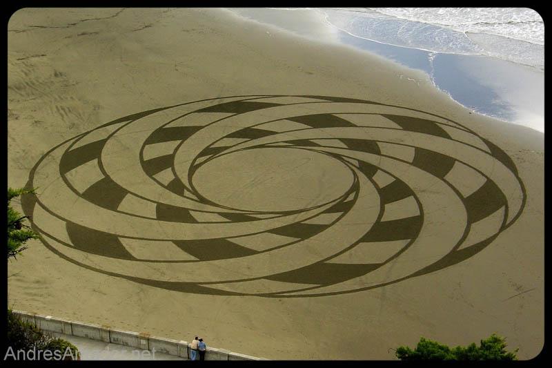 6162 Шедевры из песка Андреса Амадора