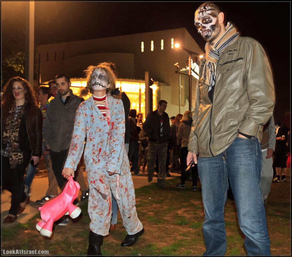 6210 Зомби на улицах Тель Авива – Zombie Walk Tel Aviv