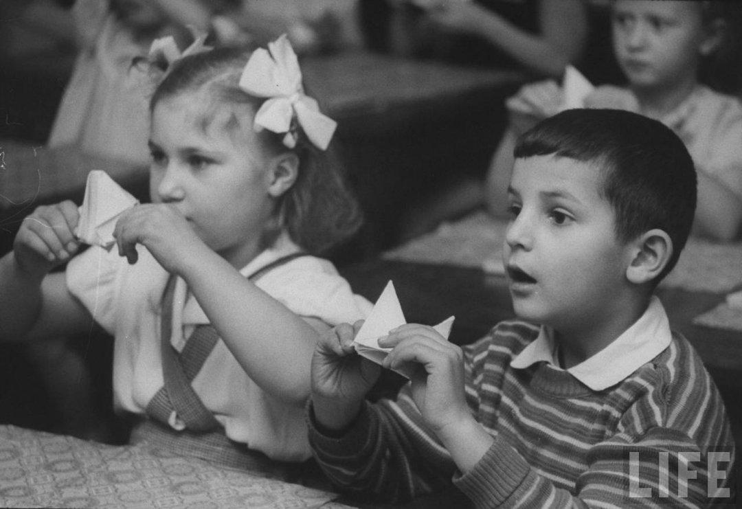 639a6cef7d77 Жизнь советского детского сада в 1960 году глазами фотографа Life