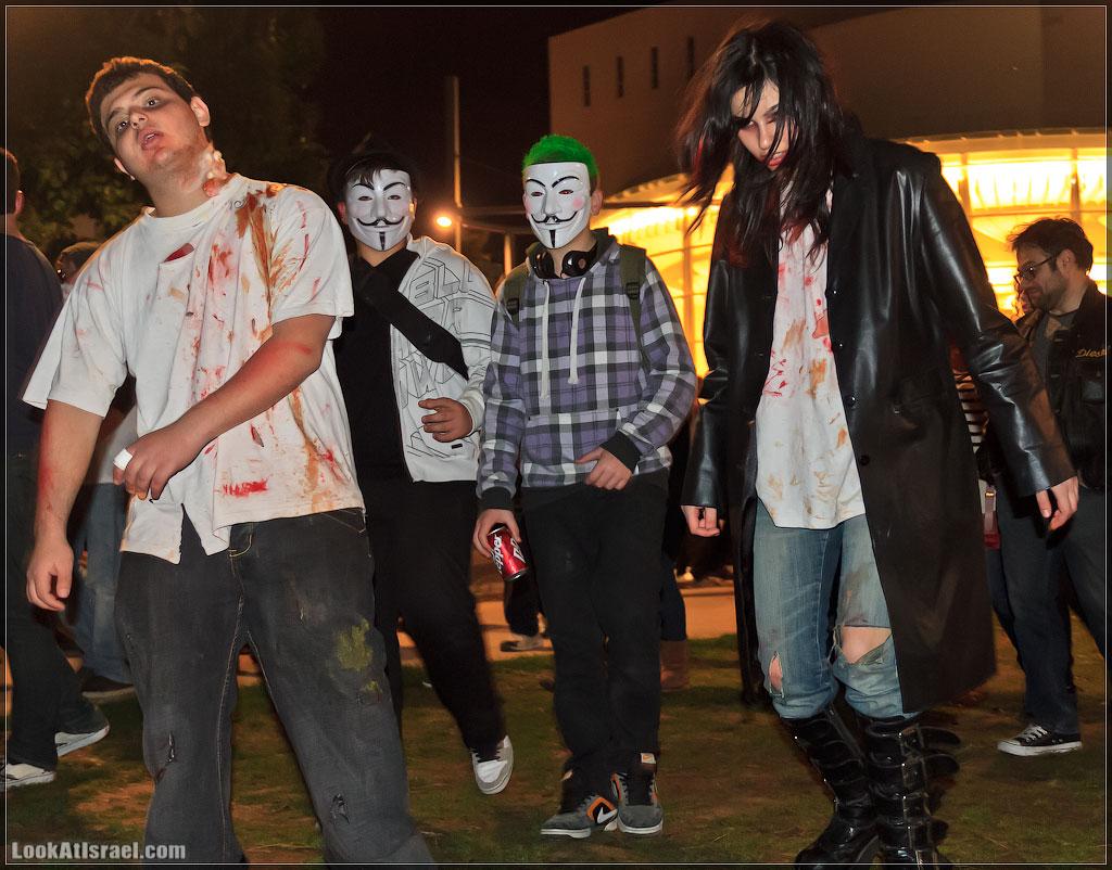 6410 Зомби на улицах Тель Авива – Zombie Walk Tel Aviv