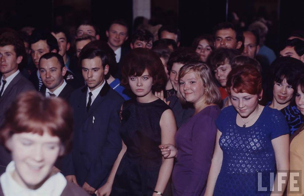 651 Советская молодежь 60 х глазами американского фотографа