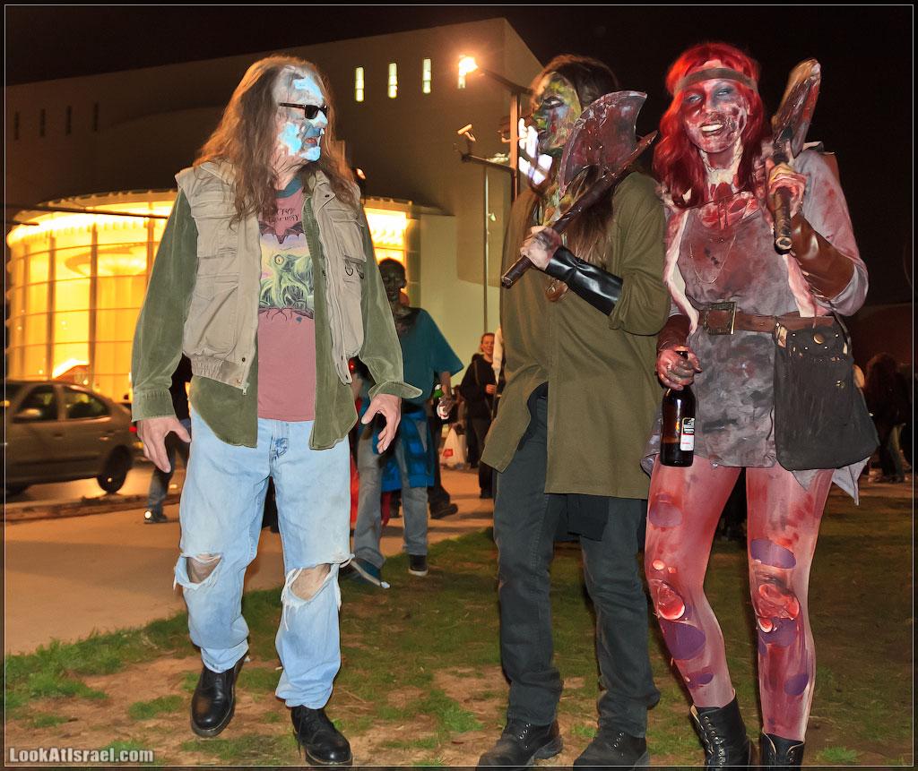 661 Зомби на улицах Тель Авива – Zombie Walk Tel Aviv