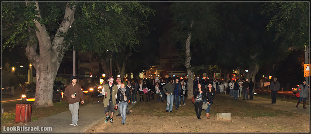 691 Зомби на улицах Тель Авива – Zombie Walk Tel Aviv
