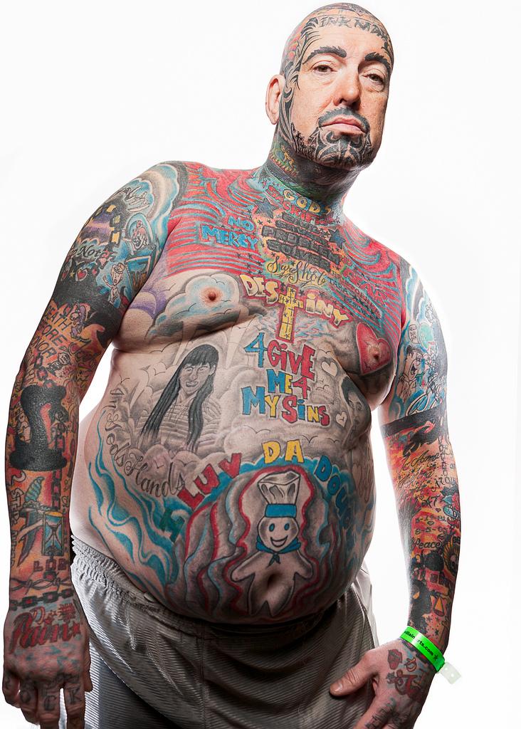 69129316 Фотопортреты с фестиваля татуировок в Филадельфии