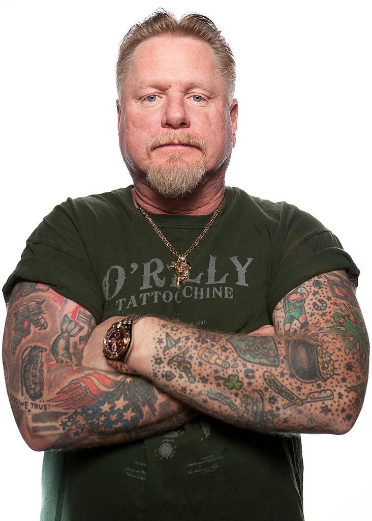 69129337 Фотопортреты с фестиваля татуировок в Филадельфии