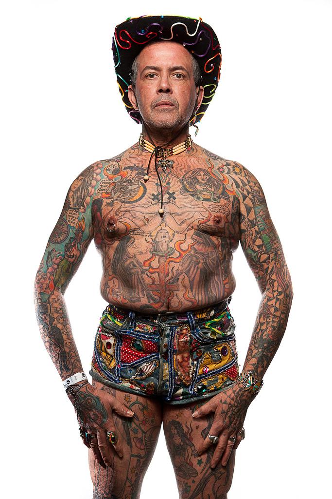 69129382 Фотопортреты с фестиваля татуировок в Филадельфии