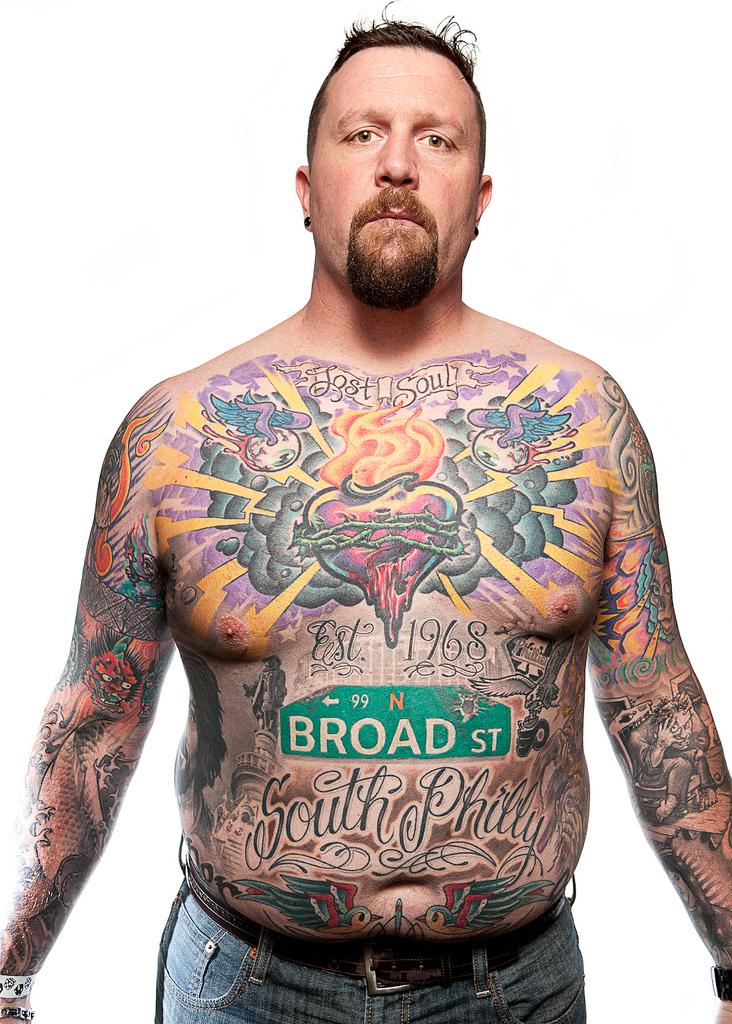 69129523 Фотопортреты с фестиваля татуировок в Филадельфии