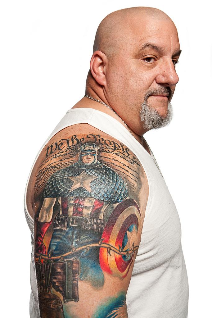 69129588 Фотопортреты с фестиваля татуировок в Филадельфии