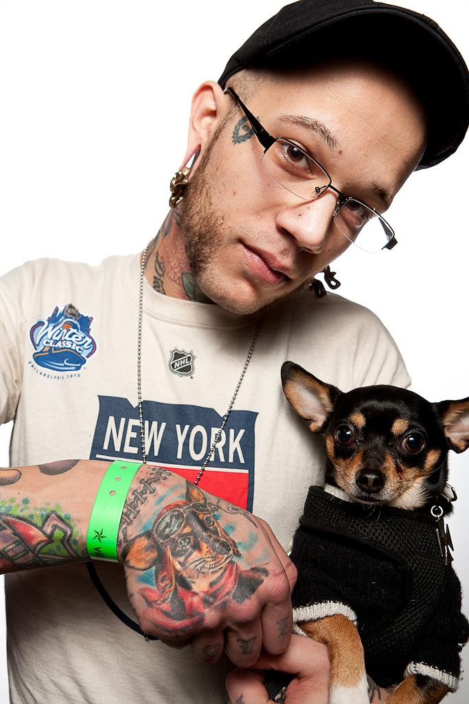 69129668 Фотопортреты с фестиваля татуировок в Филадельфии
