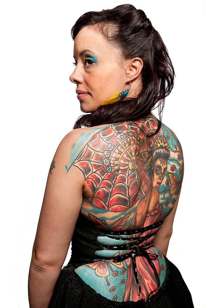 69129717 Фотопортреты с фестиваля татуировок в Филадельфии