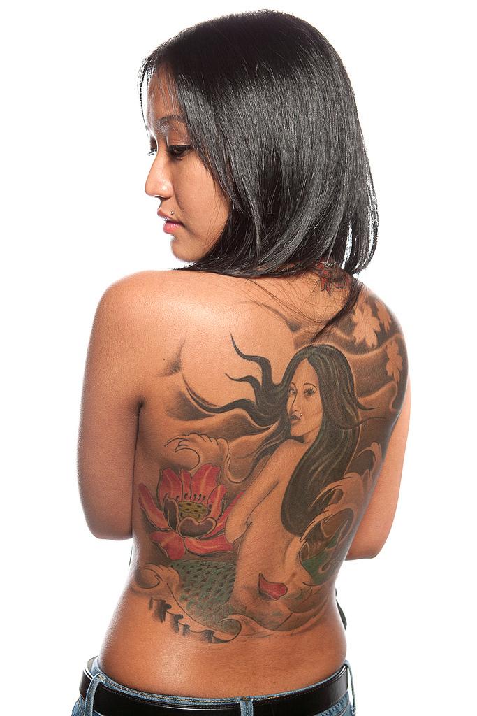 69129735 Фотопортреты с фестиваля татуировок в Филадельфии