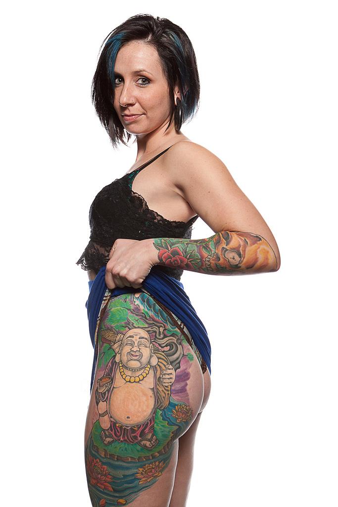 69129748 Фотопортреты с фестиваля татуировок в Филадельфии