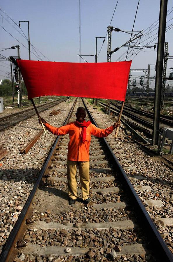 694 Индийская железная дорога   перегруженный гигант в действии