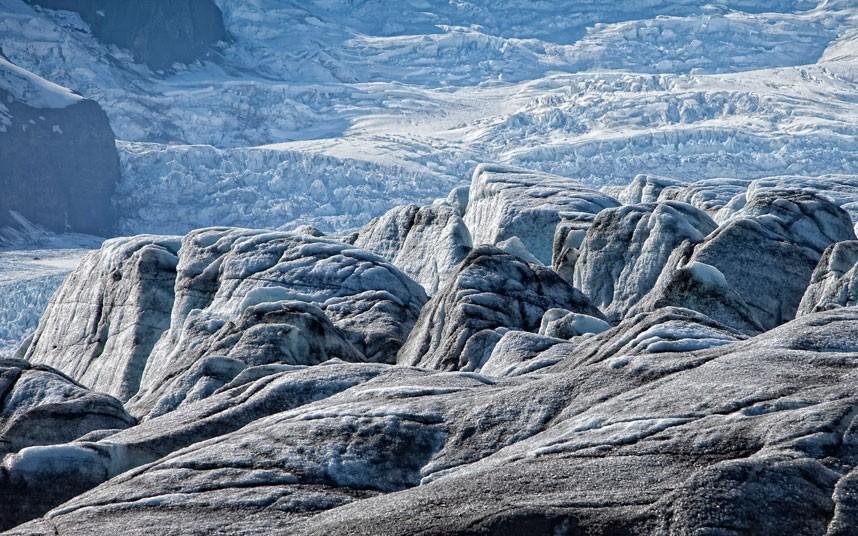7117 Голубые айсберги и ледники Исландии
