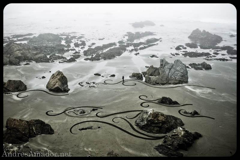 7158 Шедевры из песка Андреса Амадора