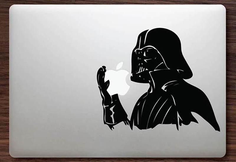 7161 50 креативных наклеек на MacBook