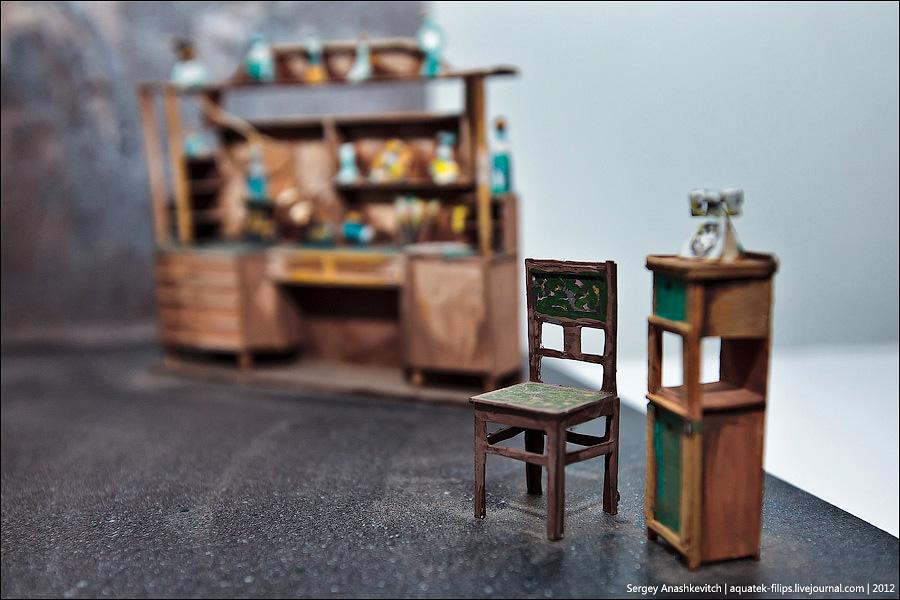 7182 Закулисье или Выставка миниатюрных театральных декораций