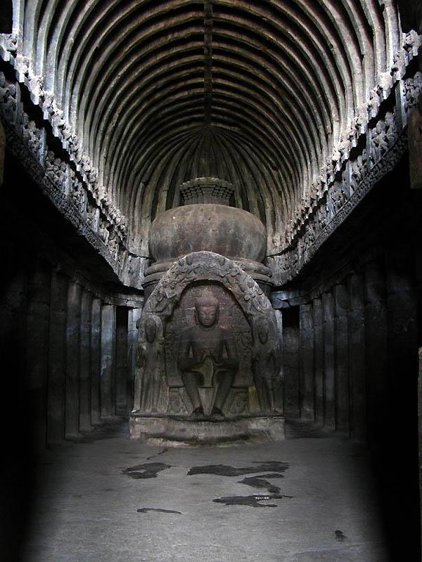 723 Эллора   пещерные храмы Индии