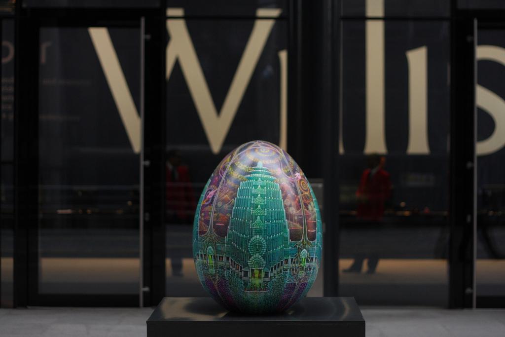 746 Большая пасхальная охота за расписными яйцами в Лондоне