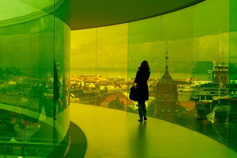 758 Новая достопримечательность Дании: Радужная панорама