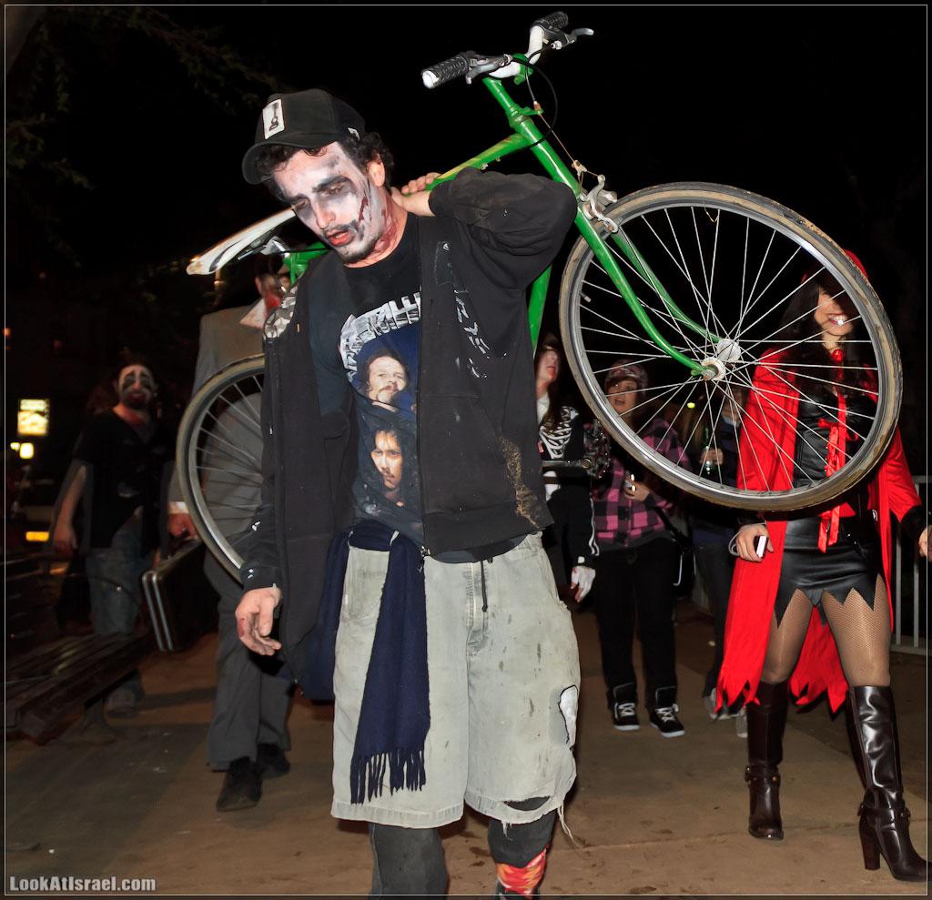 771 Зомби на улицах Тель Авива – Zombie Walk Tel Aviv