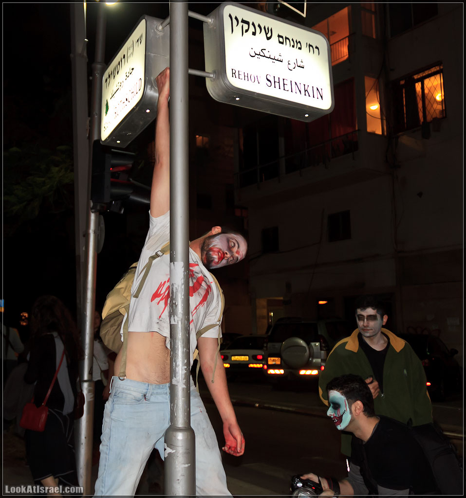 80 Зомби на улицах Тель Авива – Zombie Walk Tel Aviv