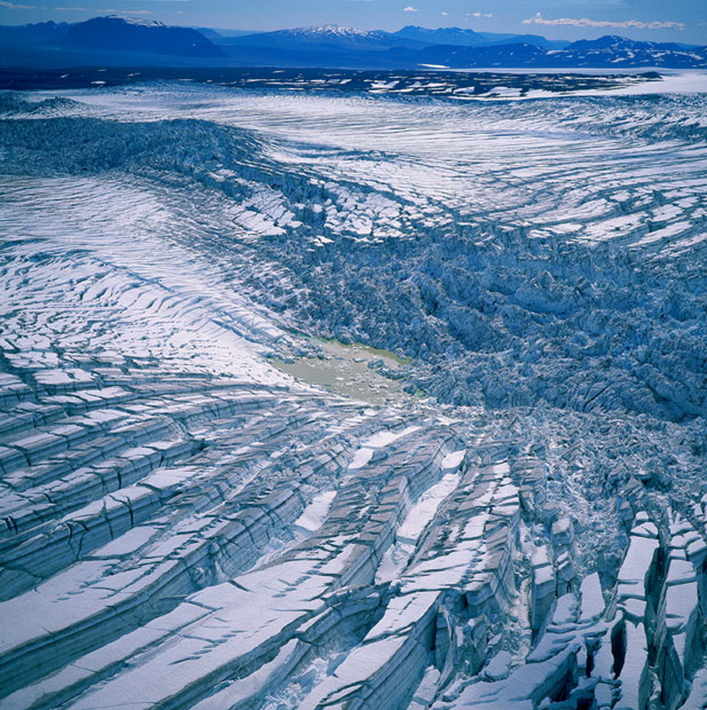 8113 Голубые айсберги и ледники Исландии