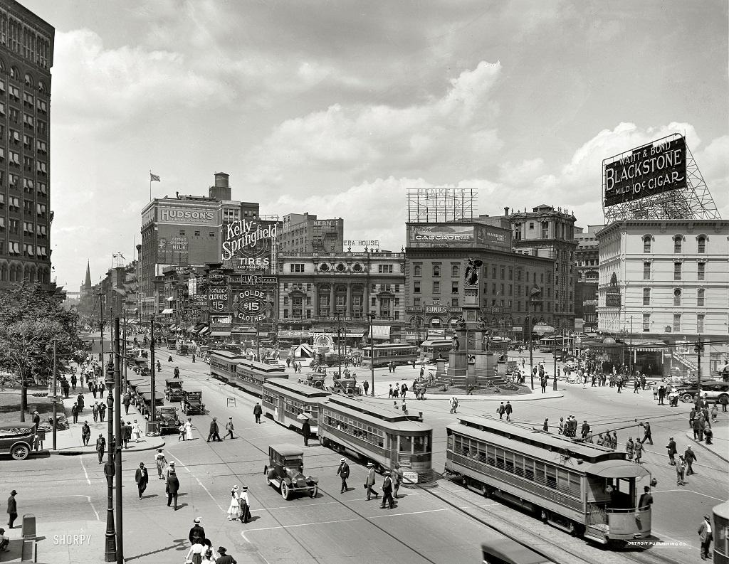 8173 Американские мегаполисы сто лет тому назад
