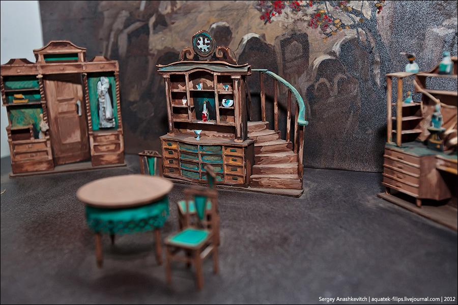 8177 Закулисье или Выставка миниатюрных театральных декораций