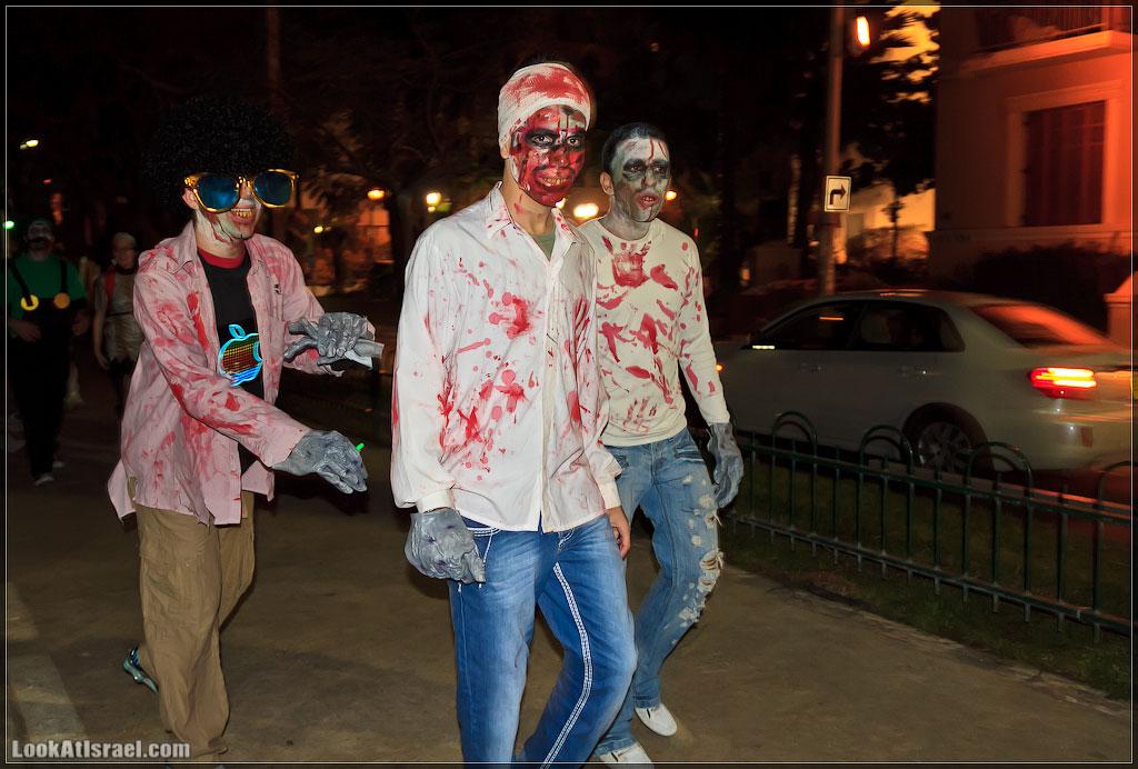 8310 Зомби на улицах Тель Авива – Zombie Walk Tel Aviv