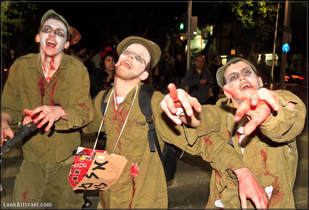 861 Зомби на улицах Тель Авива – Zombie Walk Tel Aviv