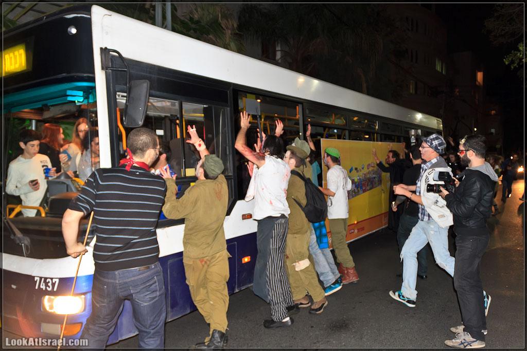 871 Зомби на улицах Тель Авива – Zombie Walk Tel Aviv