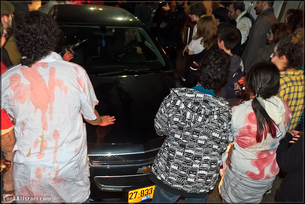 881 Зомби на улицах Тель Авива – Zombie Walk Tel Aviv