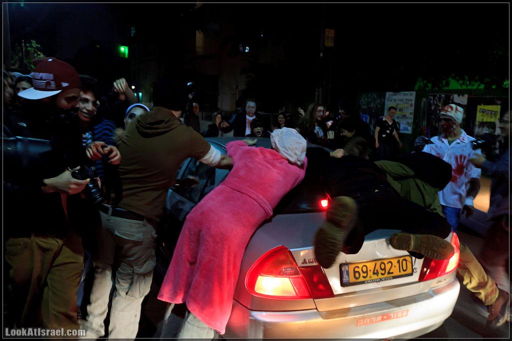 90 Зомби на улицах Тель Авива – Zombie Walk Tel Aviv